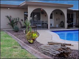 Northeast Phoenix Sober House Large Pool